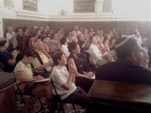 the audience/il pubblico